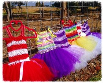 Princess Tutu dresses NB-18months, Flower Girl Dress, Themed