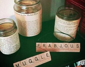Custom Scrabble Word Ornaments