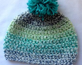 Infant / Toddler Boy Crochet Hat