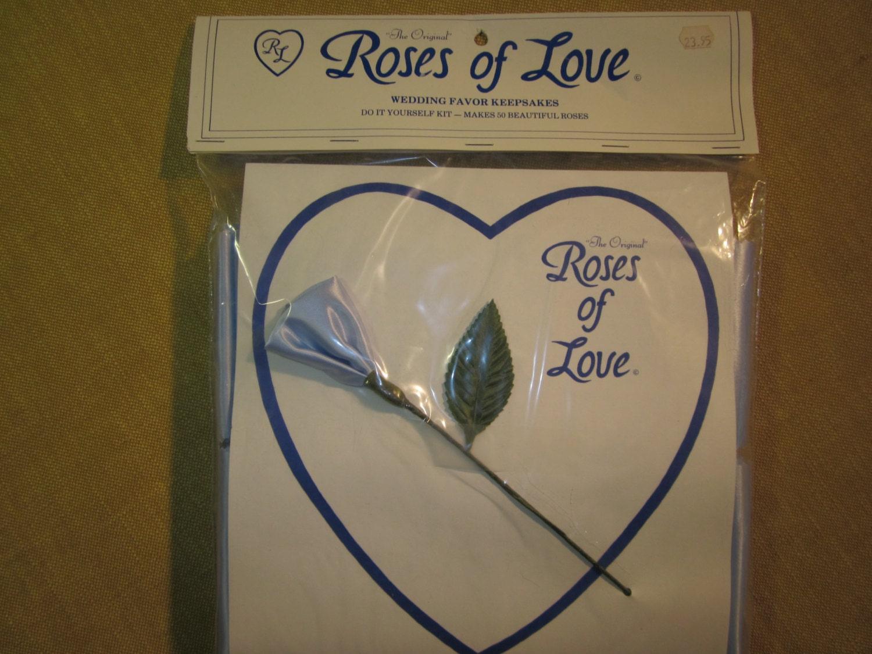 Roses Of Love Wedding Favor Kit 50 Make Yourself Roses