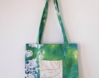 Beach bag medium sized tote bag shoulder bag