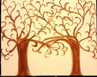 Thumbprint tree for weddings, births, adoptions, and more