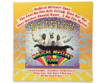 "The Beatles - ""Magical Mystery Tour"", SMAL-2835, stereo, reissue, vintage vinyl LP, ex/ex"
