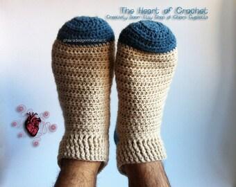 Socks unisex crochet handmade to order-Handmade crocheted socks unisex made to order