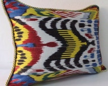 "15""x20""ikat&kilim pillow,kelly wearstler pillow, lee jofa pillow,john robshaw pillow, brunschwig fils  raoul textiles peter dunham IKPK00014"