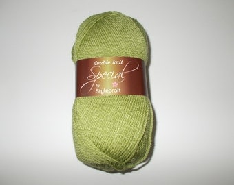 Stylecraft Special DK  yarn, 100g, MEADOW, green, light green