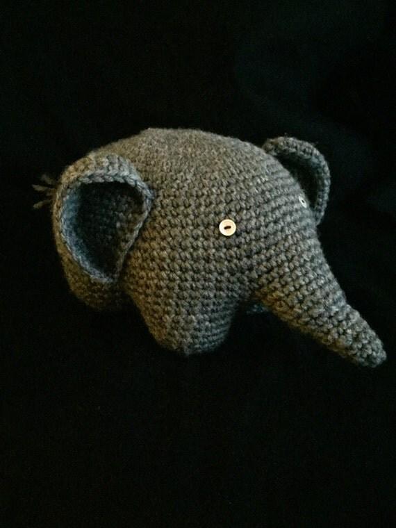 Elephant stuffed animal elephant amigurumi stuffed animal