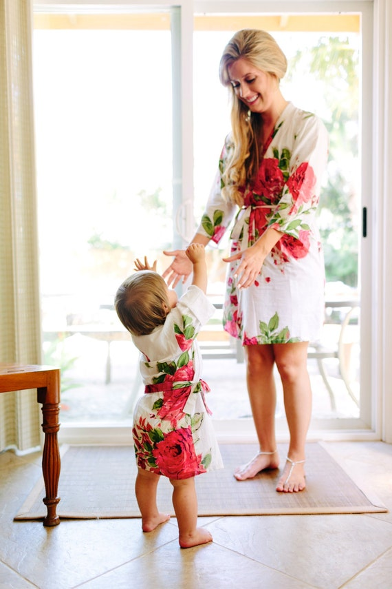 Baby Mommy Matching Robe Kimono Robes Perfect By