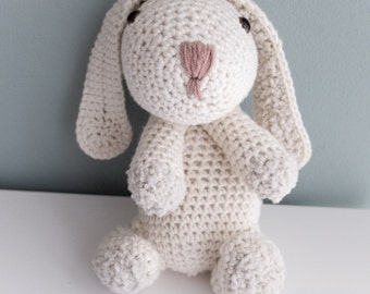 Cute crochet rabbit