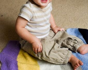 Bun - Striped Baby Blanket