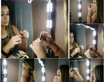 Pro - Hollywood lighted Make-up Vanity LED Mirror Kit,  Vanity Mirror LED Kit +  Dimming Switch & LED provided by Samsung