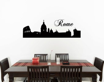 Wall stickers rome etsy it for Wall stickers roma