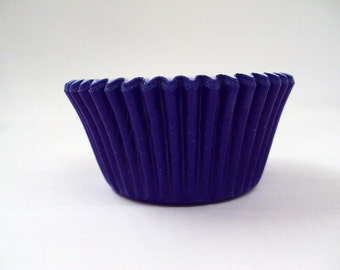 32 Blue Baking Cups