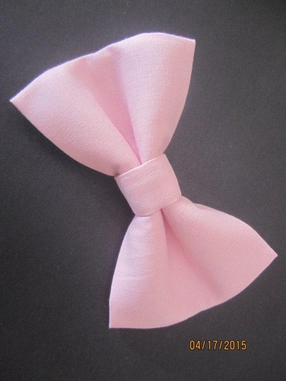 rose p le b b noeud papillon noeud rose clair solide rose. Black Bedroom Furniture Sets. Home Design Ideas