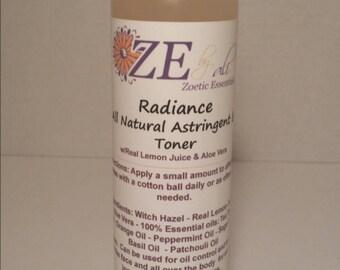 Radiance - All Natural Astringent & Toner 8oz