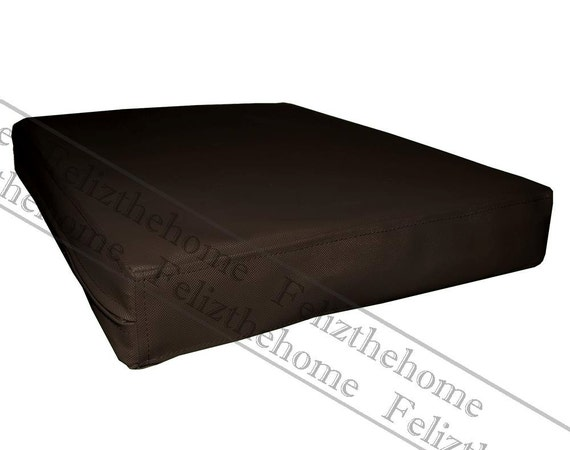 pa802t Brown Water Proof Outdoor PVC 3D Box Sofa by Felizthehome