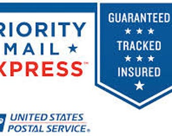 Upgrade to Priority EXPRESS Shipping-1-2 day delivery