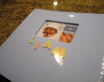 Custom Baby's First Year Scrapbook! Display all of baby's most important moments of their first year!