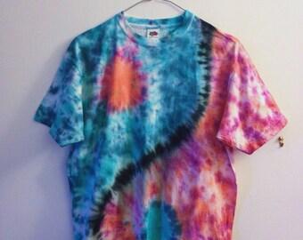 Yin-Yang Tie-dye T-shirt