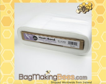 Heat-n-Bond White Iron-On Light Weight Fusible Interfacing 20-inch Width [Sold By The Yard]