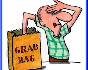 Grab Bag! 17 Geology Items. Gemstones, Fossils, Specimens, Minerals. Science. Collect. What Natural Treasures Will You Find?  Item #1417