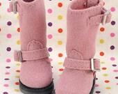 10-15N。Blythe Pullip Boots.Rose Violet