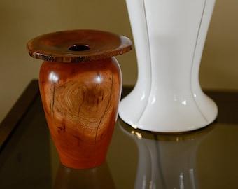 Tall Cherry Vase