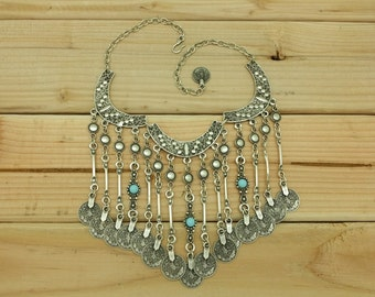 Gypsy Style Bohemian Turkish Vintage Necklace