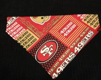 Dog bandana, NFL SF 49'ers