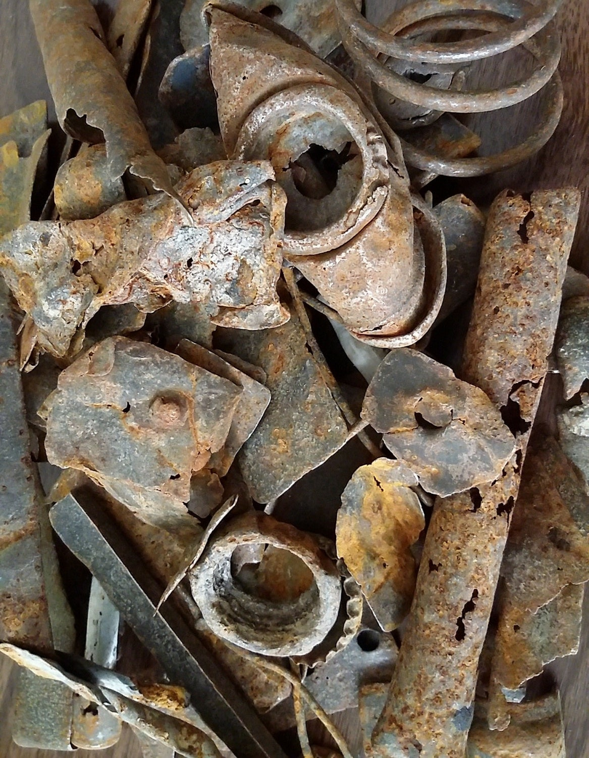 HUGE Lot of Rusty Metal Objects 1.44 lb by GreatCanadianLakes
