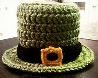Infant Photo Prop Hat - Leprechaun Hat - St. Patrick's Day Hat