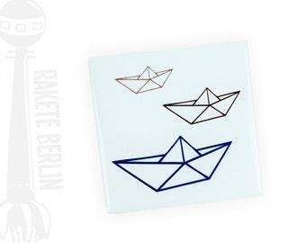 Tile 'Origami ship'
