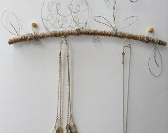 Woodland Owl Jewelry Hanger