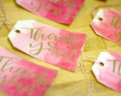 Modern Calligraphy Gift Tags - Pack of 10