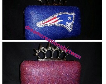 Knuckle Duster Handle Purse