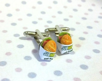 Miniature Capn Crunch Cereals Cufflinks