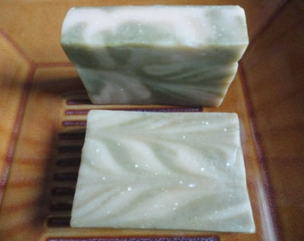 Sale!!  Sale!!   ALOE VERA And CHAMOMILE Soap / Cold Process Soap / Natural Handmade Soap  Was 6.00   Now