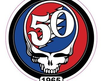 Decal - Grateful Dead 50 year anniversary decal