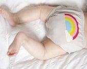 Baby gift  rainbow baby bloomers baby shower gift new baby gift  perfect for baby girl or baby boy  new mum gift  rainbow babies