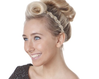 Hipsy Wave ULTRAHOLD Bling Glitter Adjustable Headbands For Women