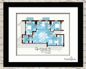 Lighting for Gossip girl apartment floor plans