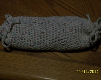Crochet Rice Bag Pack Heating Pad  with removable cover