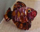 Glass Lampwork Bead - Large unique tropical fish