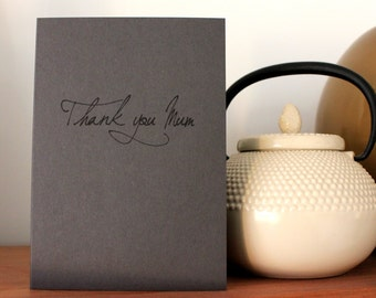 Script Happy Mothers Days - I love You card