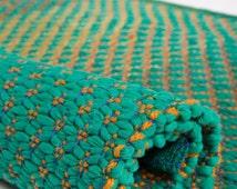 Sea Green, Woven Rug, Cotton Rug, Handmade, Rag Rug, Cotton Rag Rug, Scandinavian rug, floor runner, cotton rag rug