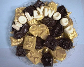 Hollywood Movie Star chocolates candy trays