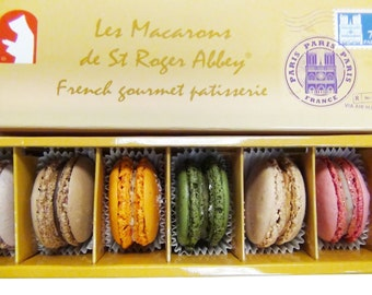 USDA Certified Organic Paris Notre Dame French Macarons, Hancrafted with le Savoir-Faire Francais