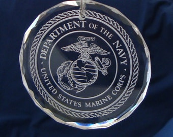 U.S. Marine Corps Ornament/Suncatcher