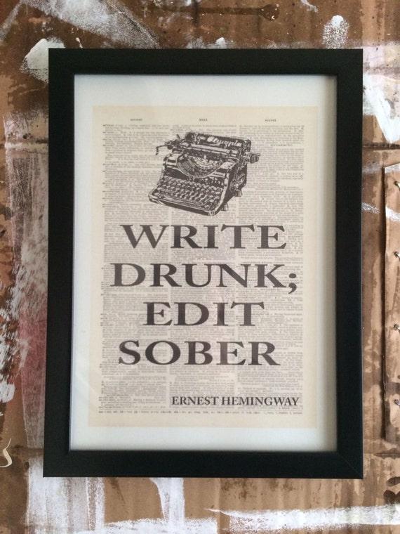 Etsy write drunk edit sober