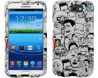 For Samsung Galaxy Note 2 Case - Meme Hard Case